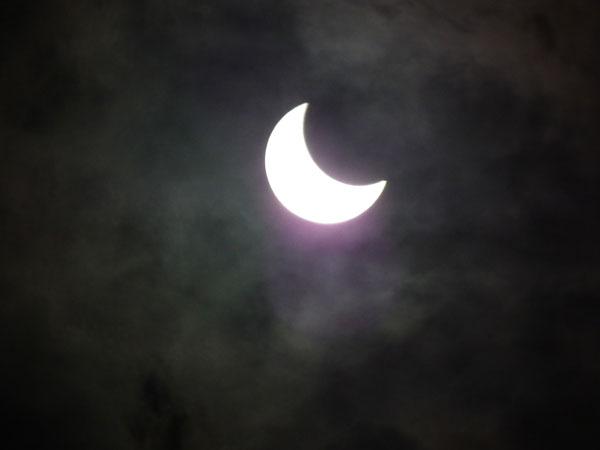 金環日蝕1