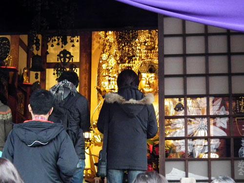 九品仏の釈迦像