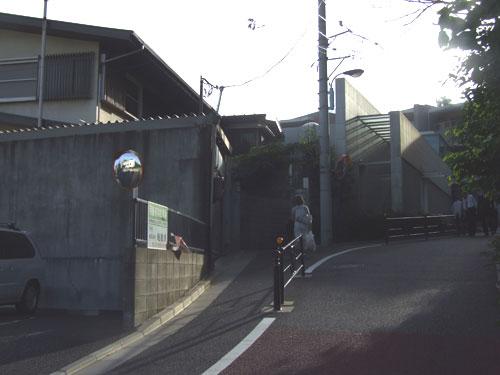 旧・目白不動(新長谷寺)のあった場所